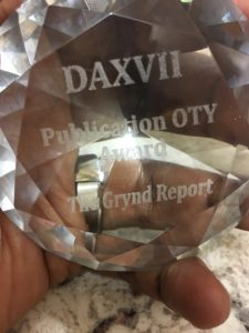 2017 DIAMOND AWARD PUBLICATION OTY